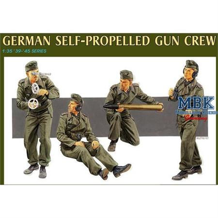 German Marder III H Self-Propelled Gun Crew