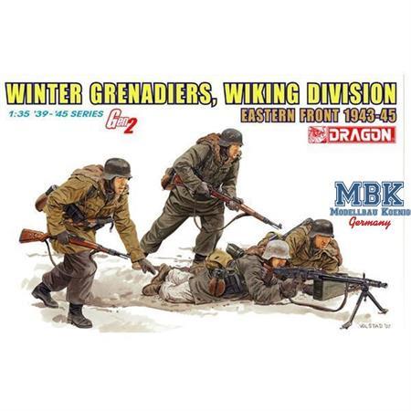 German Winter Grenadiers, Wiking, Eastern Front, 1