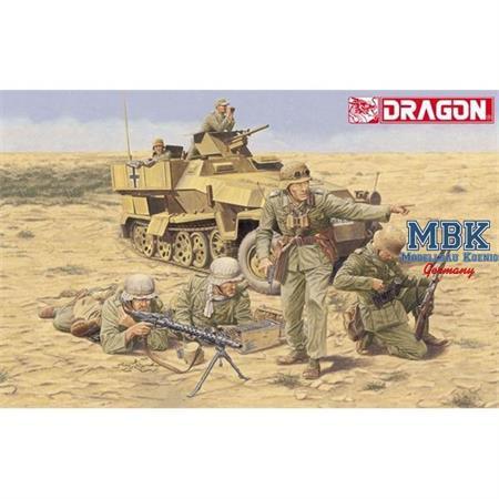 Afrika Korps Infantry El Alamein 1942