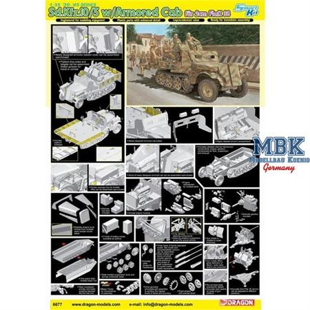 Sd.Kfz.10/5 w/Armor Cab f. 2cm Flak 38 ~ Smart Kit