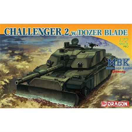 British Challenger 2 ~ New tooling Dozer Blade
