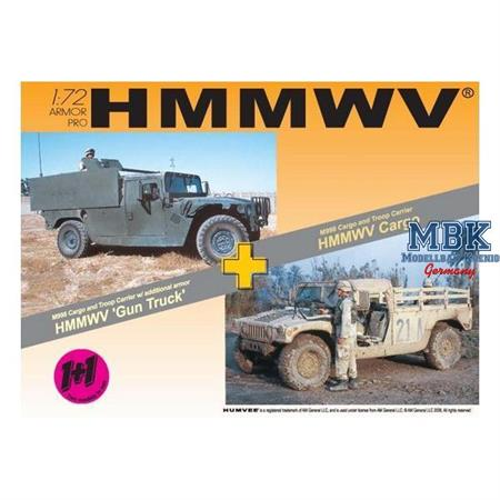 HMMWV M998 Cargo Truck and Gun Truck