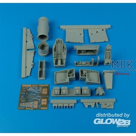 J35F Draken detail set Für Hasegawa Bausatz