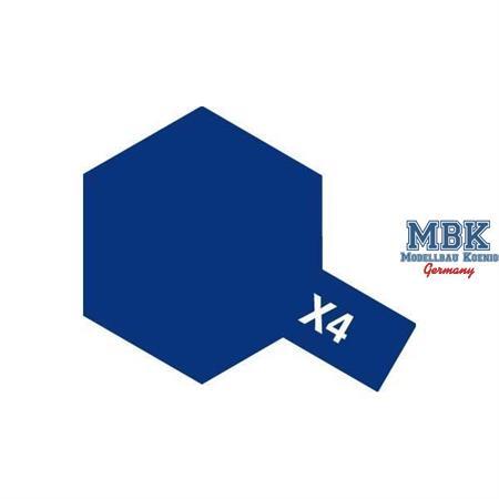 X4 - Blau
