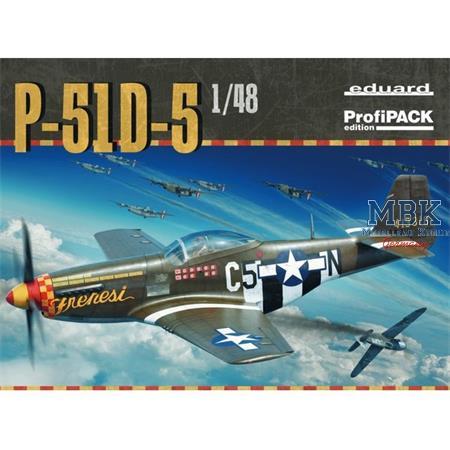 P-51D-5 1/48     -- Profi Pack --