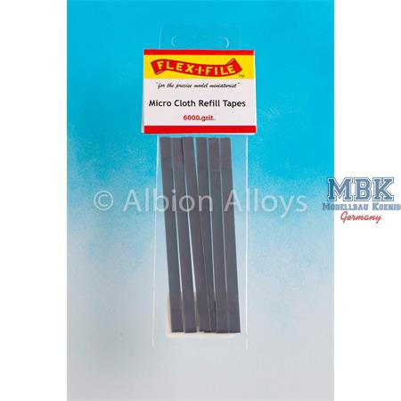 Flex-I-File Micro Cloth Refill Tape - 6000 Grit