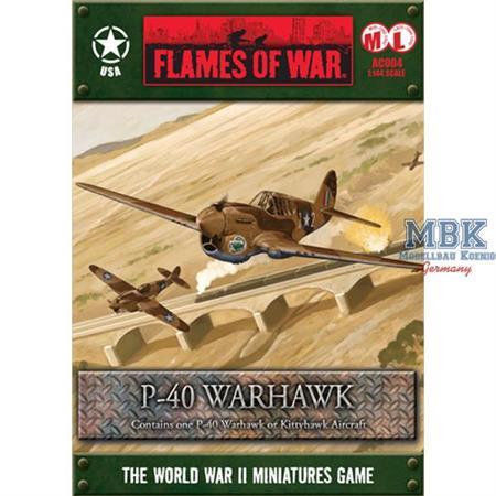 Flames Of War: P-40 Warhawk