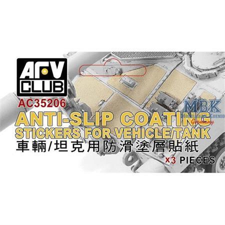 Anti-Slip Coating Stickers for Vehicle Tank