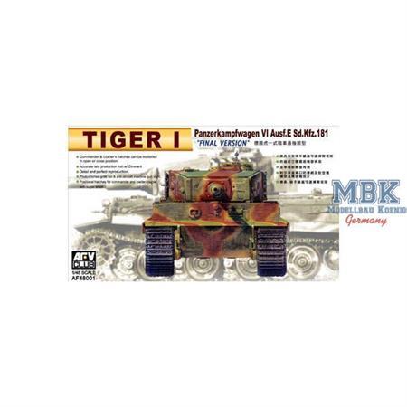 Tiger I latest Version mit Zimmerit