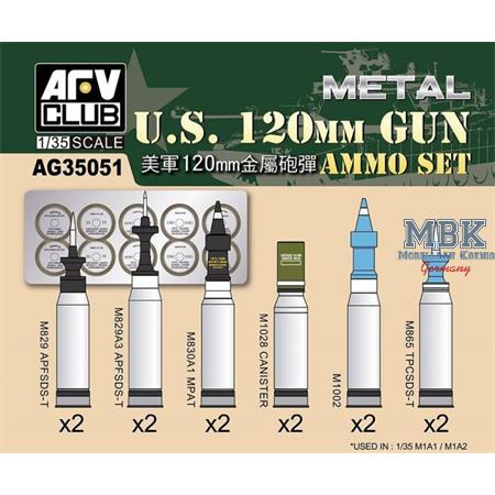 US 120mm AMMO SET
