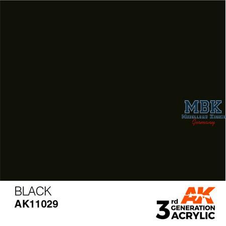 Black (3rd Generation)