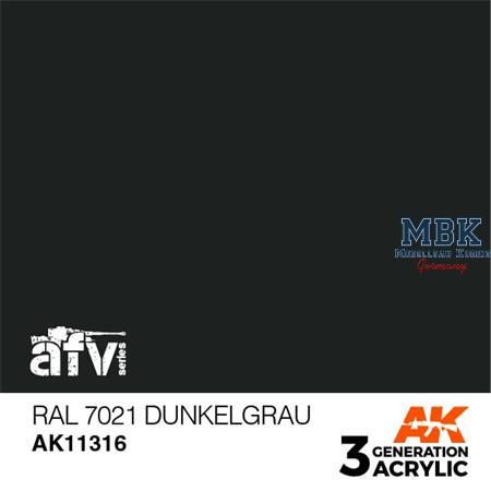 RAL 7021 DUNKELGRAU (3rd Generation)