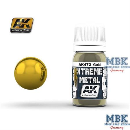 AK Xtreme Metal Gold 30ml