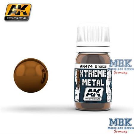 AK Xtreme Metal Bronze 30ml