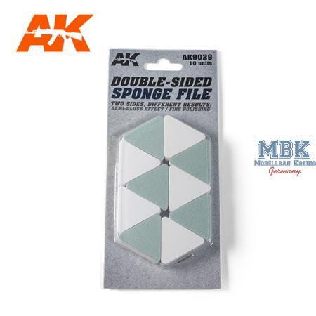 Double-Sided Sponge File / Schwammfeile