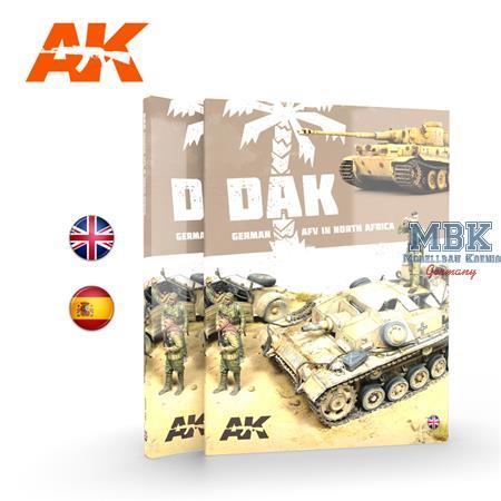 DAK German AFV in North Africa