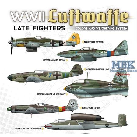 WWII LUFTWAFFE LATE WAR FIGHTERS SOLUTION BOX
