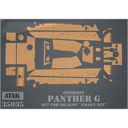 Zimmerit für Panther G (Dragon 6268)