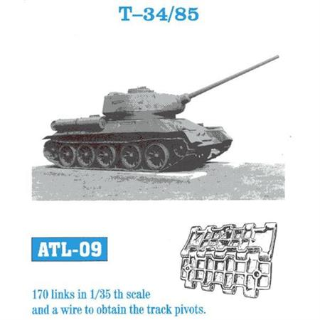 T-34/85 - Waffelmuster