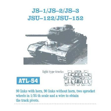 JS I, JS II, JS III, JSU 122, JSU 152 light type