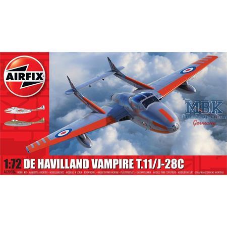 de Havilland Vampire T.11 /J-28C