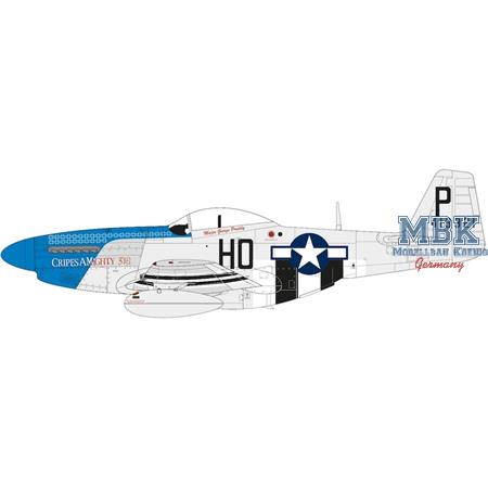 North-American P-51D Mustang (Filletless Tails)
