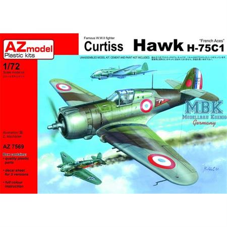 "Curtiss Hawk H-75C-1 ""French Aces"""