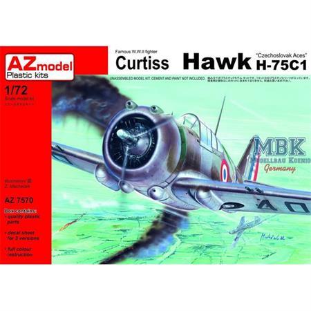 "Curtiss Hawk H-75C-1 ""Czechoslovak Aces"""