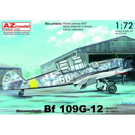 """Bf-109G-12 """"Two-seater"""" (Bf 109G-6 based)"""