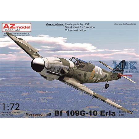 """Messerschmitt Bf-109G-10 """"Erla Late"""" (Block 15XX)"""