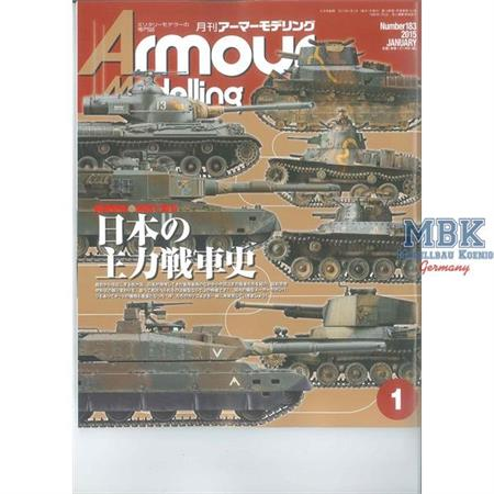 Armour Modeling January 2015 (Vol.183)