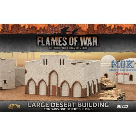 Flames Of War: Large Desert Building