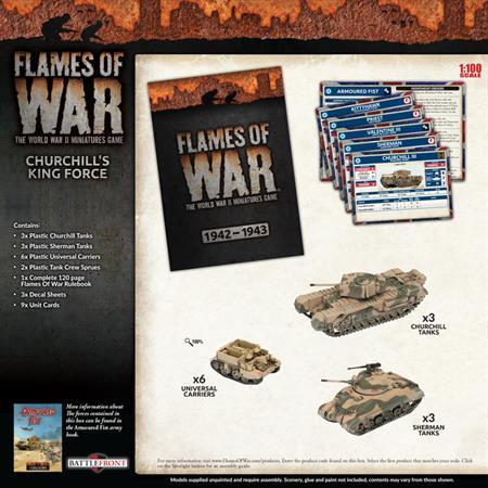 Flames Of War: Churchill's Kingforce