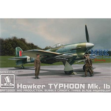 Hawker Typhoon Mk.Ib mid production 3 Blade Prop.