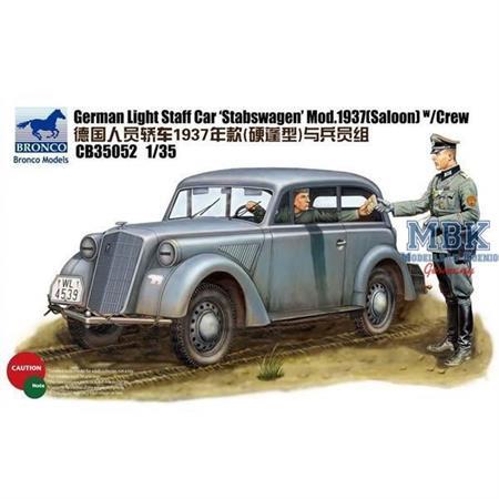 """German \""""Stabswagen\"""" Mod.1937 w/Crew"""