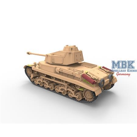 Hungarian Medium Tank 43.M Turán III
