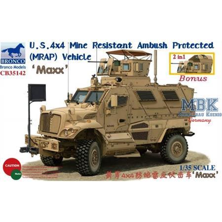 4x4 Mine Resistant Ambush Protected (MRAP) MAXX