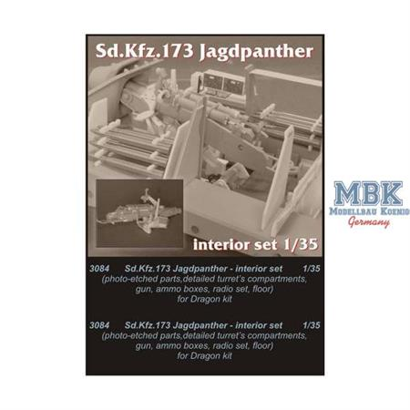 Jagdpanther - interior set