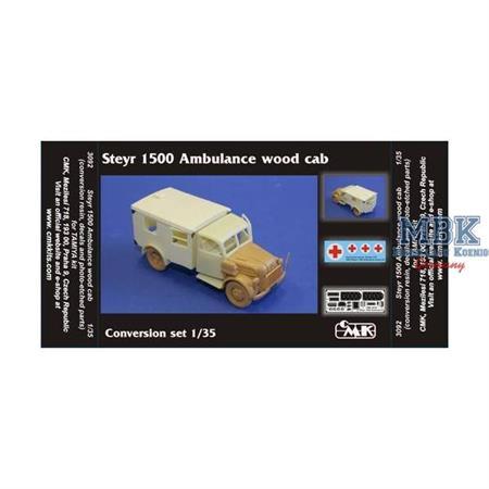 Steyr 1500 Ambulance (Holzführerhaus)