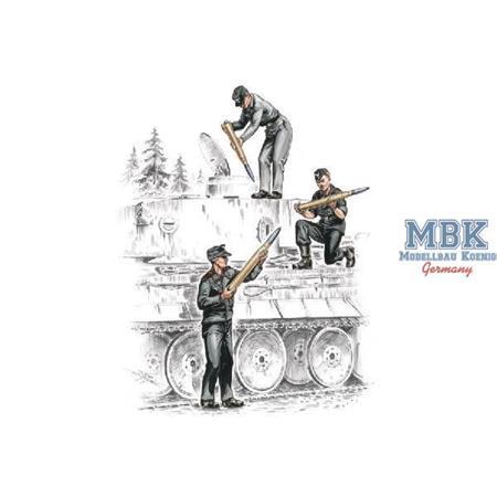 Deutsche Panzerbesatzung für Tiger