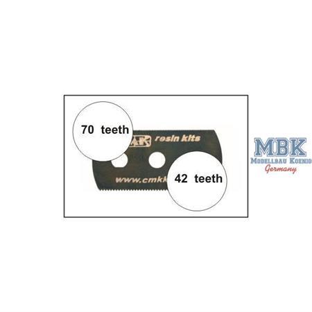 CMK Sägeblatt (feine und grobe Zähne)