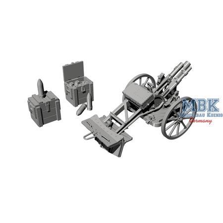German WWI 7.58 cm Leichter minenwerfer n/A