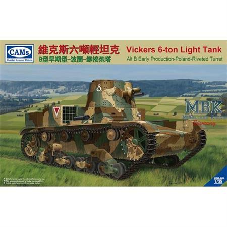 Vickers 6-Ton Light Tank Alt B Early Poland