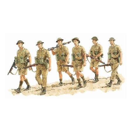 Commonwealth Infantry, Italy 1943 (6 Figures Set)