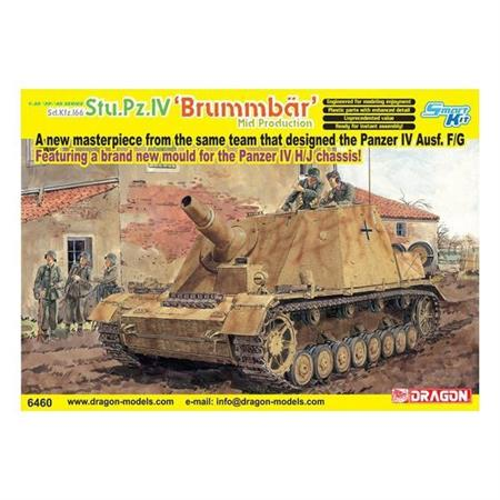Brummbär Mid Production Sd.Kfz.166 Stu.Pz.IV (2in1