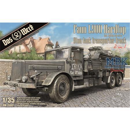 Faun L900 Hardtop 2in1