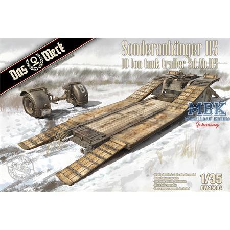 Sonderanhänger 115 - 10t Tank Trailer Sd.Ah.115