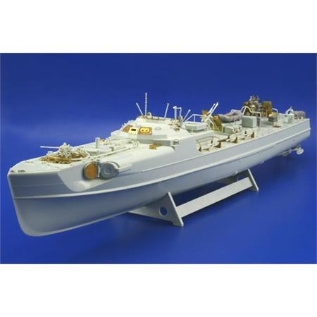 S-100 Schnellboot Flak Detailsatz 1:72