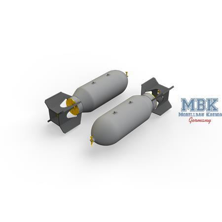US 1000lb bombs 1/48