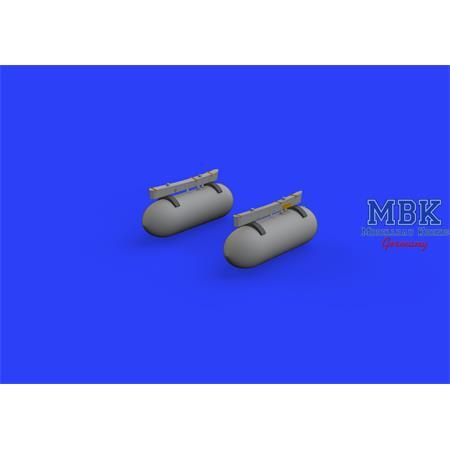 Ki-61-I fuel tanks  1/72